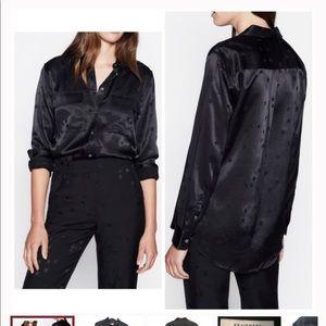 NWT Equipment Tabitha Simmons Star Print Shirt XS